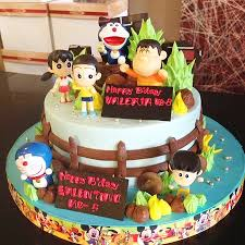 and friends cake doraemon and friends cake made by strawberry delight picture