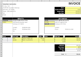 478873907588 template for invoicing excel invoice template excel