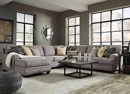 microfiber living room set merida large gray microfiber living room set 5pcs sofa couch chaise