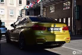 Bmw M3 Yellow 2016 - bmw m3 f80 sedan 2016 1 april 2017 autogespot