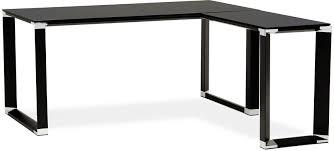 bureau design noir laqué bureau d angle noir laque maison design hosnya com