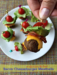 appetizers for halloween party bacon cheeseburger meatballs an affair from the heart