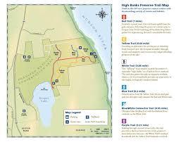 Hudson Valley New York Map by High Banks Preserve Scenic Hudson