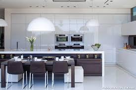 cuisine à l italienne modele cuisine en l modle de cuisine moderne en bois