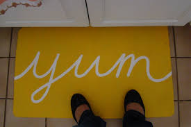 Yum Kitchen Rug Yellow Rugs For Sale Affordable Modern Home Decor Best Yellow