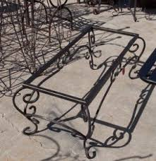 Iron Table Base Wrought Iron Coffee Tables Foter