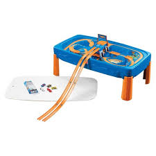 step2 deluxe canyon road train and track table with lid step2 wheels car track play table target