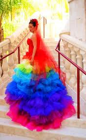 colorful wedding dresses 16 best dresses images on wedding dressses colorful