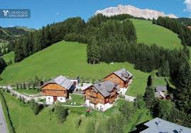 traditional chalet with one hectare of land for sale in val badia
