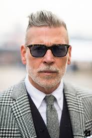 haircuts for men in their 40s 50 grey hair styles haircuts for men