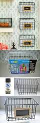 Pinterest Kitchen Organization Ideas Best 25 Wall Basket Ideas Only On Pinterest Kitchen