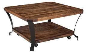 trent austin design brook square coffee table with magazine rack