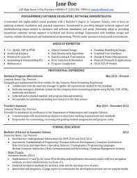 Developer Resume Sample by Click Here To Download This Programmer Or Database Developer Or