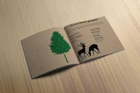Kraft Paper Wedding Programs Rachel Reitz