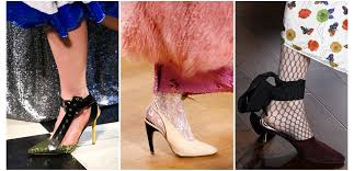 fall 2017 runway shoe trends that are about to be everywhere glamour
