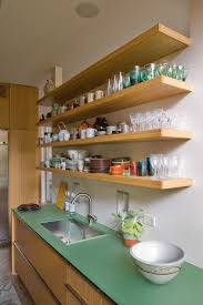 kitchen shelves ideas minimalist traditional kitchen design with impressive open wall
