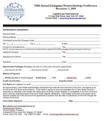 doc 12401754 sponsorship form u2013 free sponsorship form template