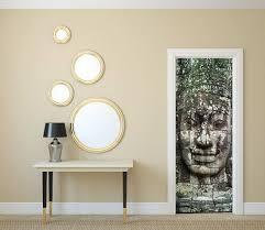 sticker trompe oeil stickers porte 10 idées pour décorer vos portes