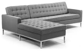 knoll florence sofa midcentury florence sectional contemporary sectional sofas