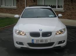 bmw 320i 2007 for sale 320i m sport z3d1 coupe 2007 in white for sale carrigaline