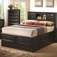bed frames with headboard storage home beds decoration