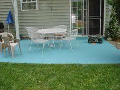 Outdoor Concrete Patio Paint Painted Concrete Patio Slab U2026 Pinteres U2026