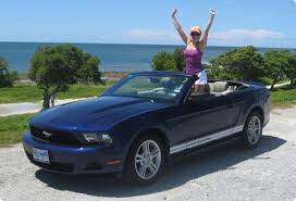 rent a mustang in usa cheap car hire usa ford mustang convertible florida hertz car hire
