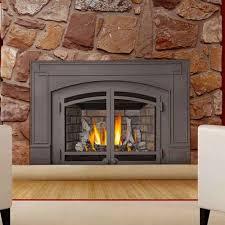 gas log fireplace insert binhminh decoration