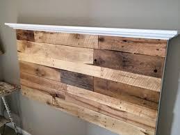 Wood Pallet Headboard Bedroom Pretty Diy Headboard Pallet Wall Headboard With Shelf
