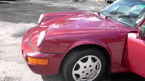 porsche targa 1990 1990 porsche 911 targa velvet red youtube