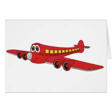 cartoon aeroplane cards u0026 invitations zazzle uk