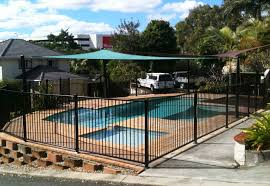 fence design affordable glass pool fencing fence material with