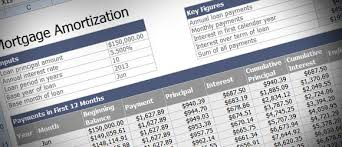 Excel Payment Calculator Template Mortgage Loan Amortization With An Excel Template