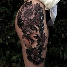 chic hip u0026 thigh tattoo best tattoo design ideas