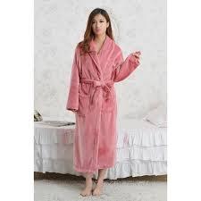 robe de chambre hiver robe de chambre polaire femme zippe simple le dernier modle robe de