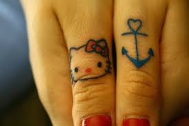 frankie savage hello kitty tattoos