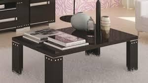 Crystal Coffee Table by Armonia Black Coffee Table High Gloss Living Room Furniture