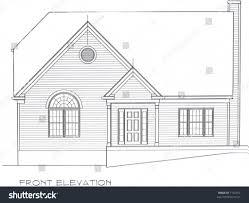 home front elevation design online house plan front elevation house plan stock photo 1152416