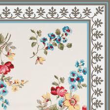 free shipping flowers flowers pattern decorative pvc vinyl mat linoleum rug roses 01