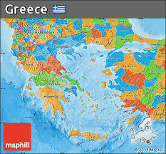 greece map political free political map of greece
