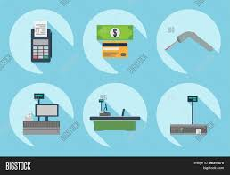 Supermarket Cash Desk Cash Desk Cashier Place Cash Vector U0026 Photo Bigstock