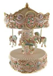 carousel box windup musical carousel box