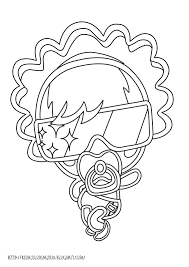 moshling monster coloring pages lady goo goo learn to coloring
