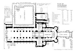 canterbury cathedral floor plan the cathedral church of gloucester by h j l j massé m a
