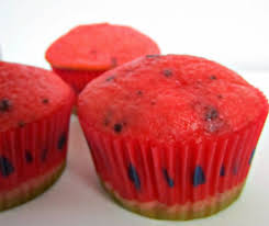 cupcake tops fizzy party watermelon cupcakes