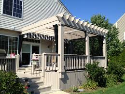 Mosquito Curtains Pergola With Mosquito Curtains An Alternative To A Screened In