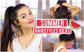 casual summer ideas 3 casual summer hairstyle ideas