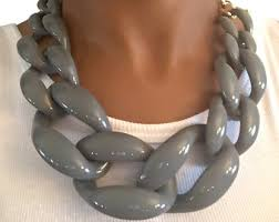 chunky link necklace images J crew necklace etsy jpg