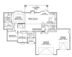 house plans with daylight basement manificent modest basement house plans ranch house plans daylight
