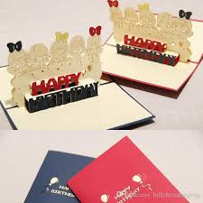 new happy birthday card handmade creative 3d pop up greeting